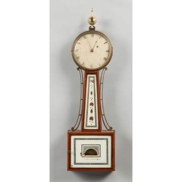Fine & Rare Early Simon Willard Banjo Clock