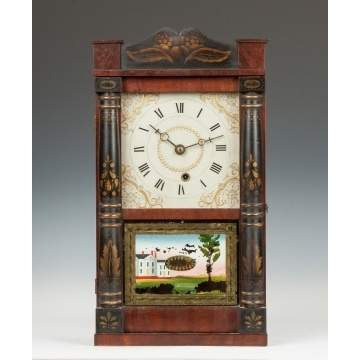 Rare Treat & Bishop Miniature Shelf Clock