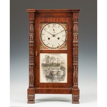 Curtis & Clark Miniature Shelf Clock