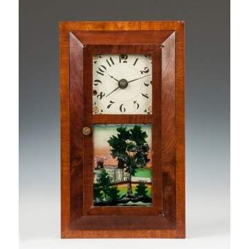 Miniature Silas Hoadley Shelf Clock