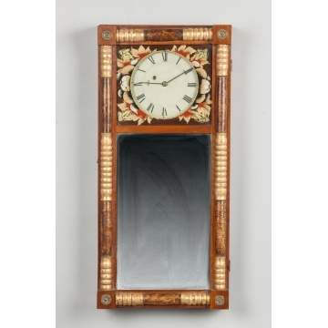 New England Mirror Clock
