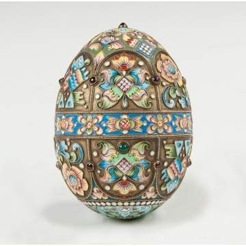 Russian Enameled Egg