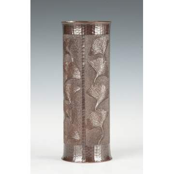 Roycroft Revival Copper Vase