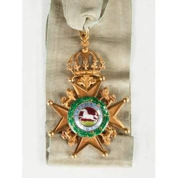 Royal Guelphic Order of the Kingdom of Hanover Badge