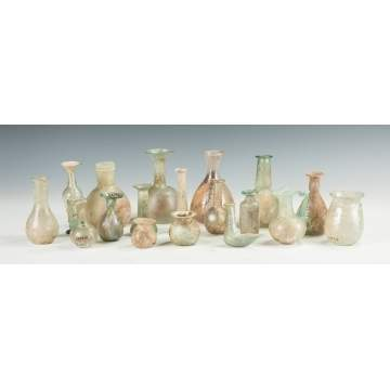 Group of Antique Roman Glass