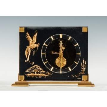 Jaeger-LeCoultre Marina Chinoiserie Mantel Clock