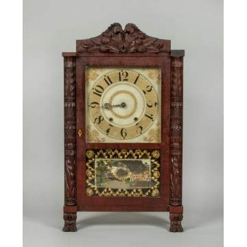 Lucius Bradley Shelf Clock