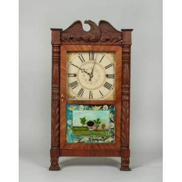 Erastus Hodges Shelf Clock