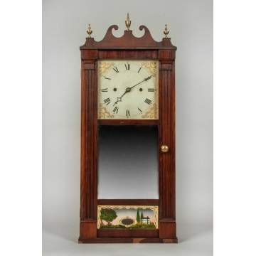 Ives Mirror Shelf Clock