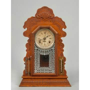 Ansonia Calendar Shelf Clock