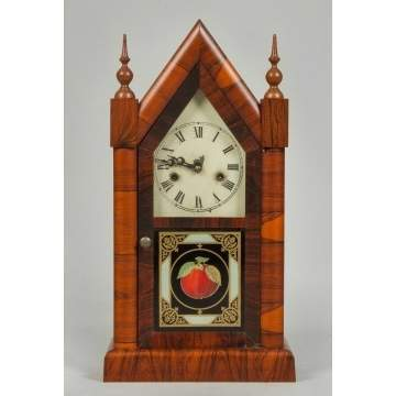 New Haven Sharp Gothic Steeple Clock