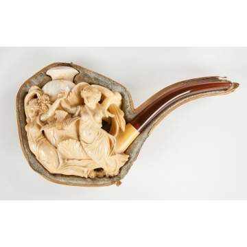 Carved Meerschaum Pipe