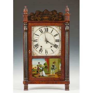 Riley Whiting Shelf Clock