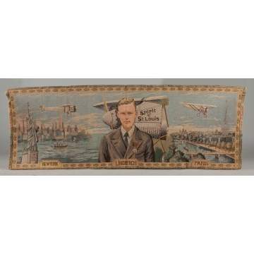 Charles Lindbergh Pillow Cover & Wall Hanging
