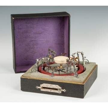 Vintage French Horse Race Game
