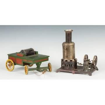 Pumper Model & Steam Engine