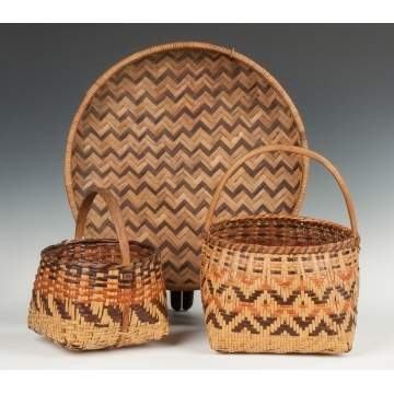 Group of Woven Native American Items