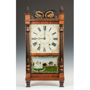 E. & G.W. Bartholomew Shelf Clock