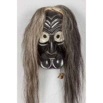 Iroquois Carved & Painted Mask