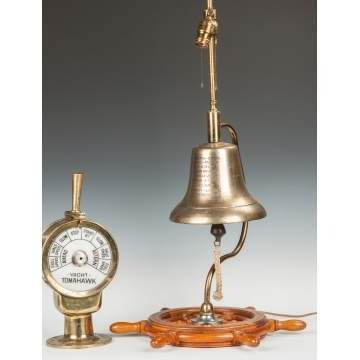 Yacht Tomahawk Ships Control & Presentation Bell