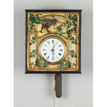 Black Forest Picture Frame Clock
