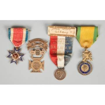 Group of Four Medals