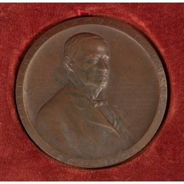 Victor David Brenner (American, 1871–1924), Frederick Samuel Tallmadge Medal for the New York Society of the Sons of the Revolution