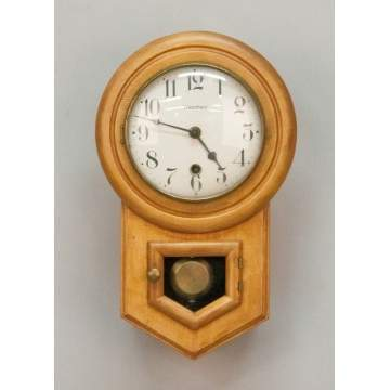 Waterbury Miniature Schoolhouse Clock, Daintie #1