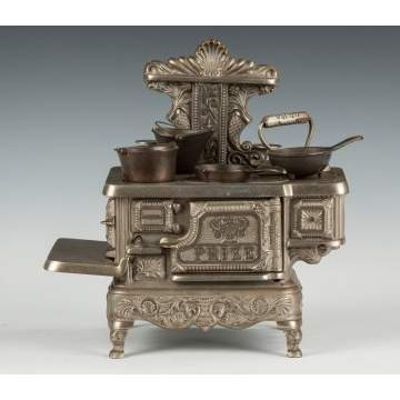 Prize Nickel Plated Cast Iron Kitchen Stove