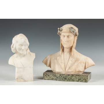 Alabaster Busts