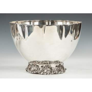 Whiting Sterling Silver Punch Bowl