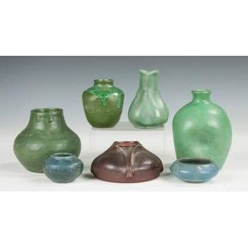 Group of Seven Pieces of Art Pottery