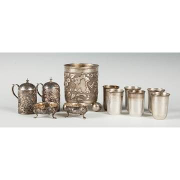 Sterling Silver Table Articles