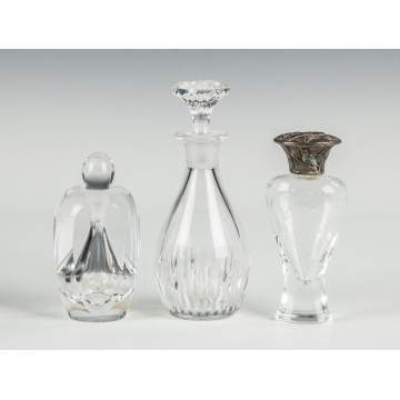 Three Glass Colognes