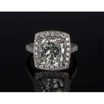 5+ Carat Diamond Ring