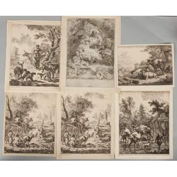 Group of Early Etchings