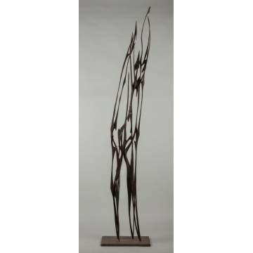Stuart Harwood (New York, 20th cent.) Carved Wood Sculpture