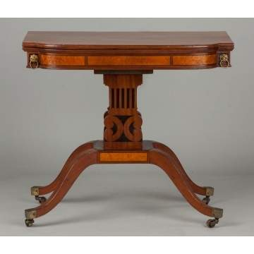 Classical Federal Bowfront Table