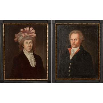 Pair of Anglo-American Portraits