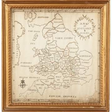 """A Map of England & Wales"""