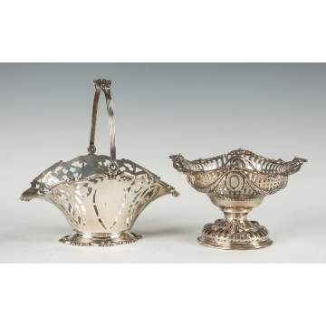 Two Sterling Silver Baskets