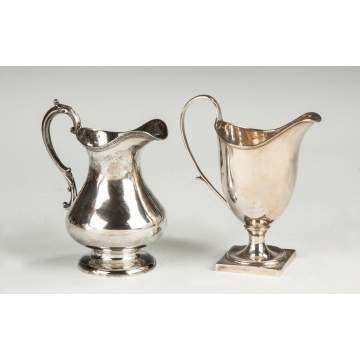 Sterling Silver Creamers