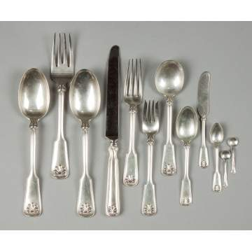 Tiffany Sterling Silver Flatware - Shell & Thread Pattern