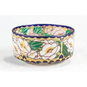 Auguste Claude Heiligenstein (French, born 1891) Enameled Bowl