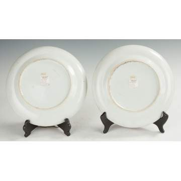 Fitzhugh Chinese Export Porcelain Plates