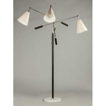 Arredoluce Three Arm Floor Lamp