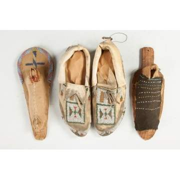 Cradle Boards and Moccasins