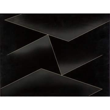 "Josef Albers (American, 1888-1976) ""Structural Constellation F-8"""
