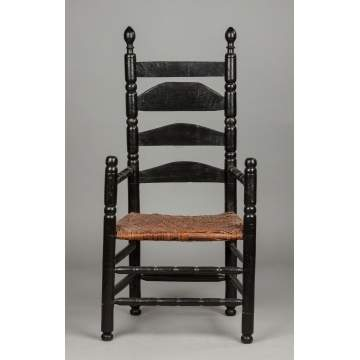 Banister Back Arm Chair