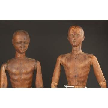 Carved and Jointed Artist Models